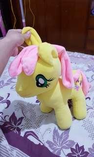 Boneka little pony kuning
