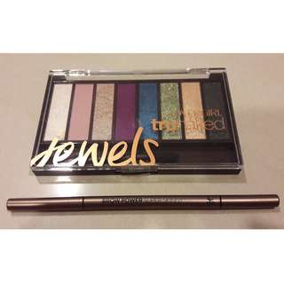 2 for $19 - IT Cosmetics Super Skinny Brow Power and Covergirl Eyeshadow Palette