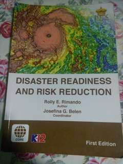 Disaster Readiness & Risk Reduction (DRRR) SHS BOOK