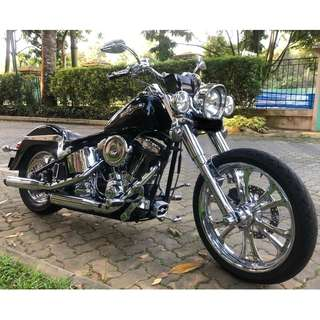 One & Only Customised HD Softail in Singapore