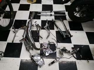 Yam rxz part sell all together