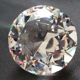 115 Swarovski Silver Crystal - Chaton (Large) - Big Diamond