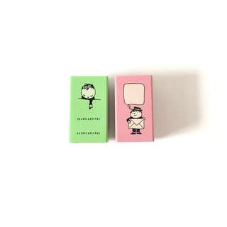 Kodomo no kao japan wood rubber stamp