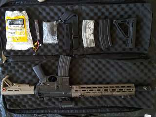 Personal preloved airsoft riffle HK416D (EC-102 AEG) For CQB MILSIM lover