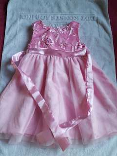 Pink Dress/gown 2t