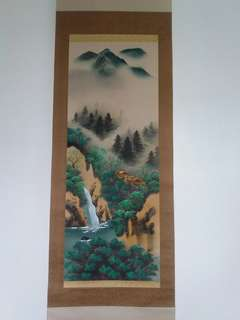 Japanese Kakejiku (hanging scroll)