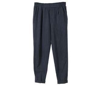 Black Striped Pants