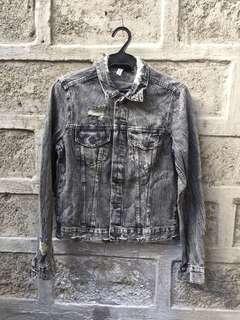 H&M Gray Collection Denim Jacket