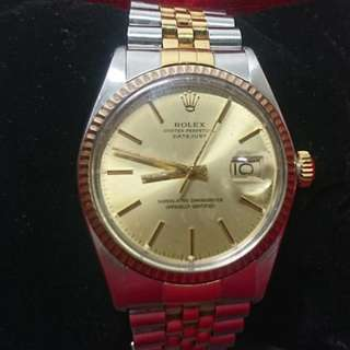 WTS: Authentic Rolex Oyster Perpetual Datejust 16013