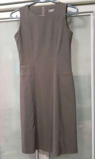 Executive Brown Dress