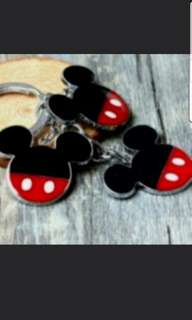 In Stock Mickey Mouse Head Keychain