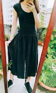🚚 黑色寛褲
