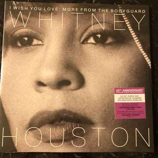 Sold. Whitney Houston- I wish you love more from the bodyguard. Vinyl Lp