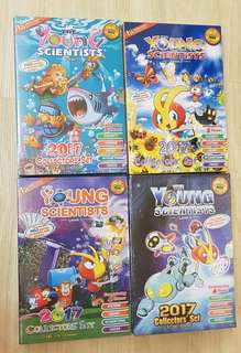 Ready Stock !! BN Young Scientists Level 1, 2, 3 & 4 (2017 collector's set)