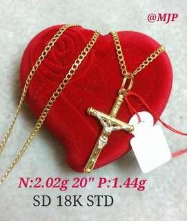 18K Gold Necklace ❣️