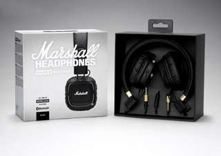 🚚 BNIB Marshall Major II Bluetooth