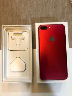 IPhone 7 Plus 128GB Red + Complete Set