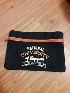 FREE WITH PURCHASE: NUS pencil case