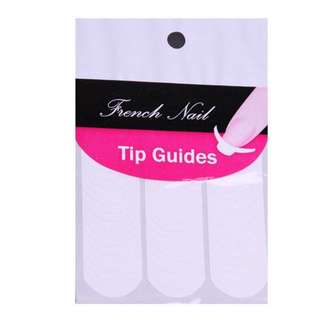 French Tip Stickers