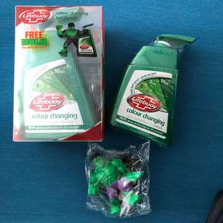 Lifebuoy Colour Changing Hand Wash with Limited Edition Hulk Toy