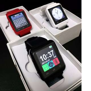 HK$99/1PC ~ 全新藍牙電話手錶 可打出打入 聽歌睇訊息 Bluetooth smart watch for IOS Android Smart Phone Telephone Watch