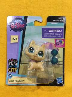 🆕Littlest Pet Shop Single Pet Corgi Regalton