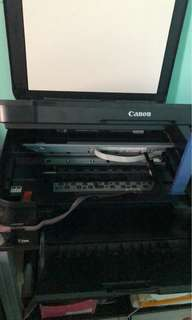 Printer nka continous ink na siya