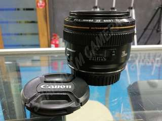 CANON EF 28MM F1.8 PRIME LENS