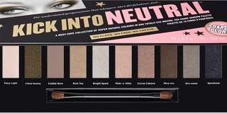 Soap and glory kick into neutrals palette