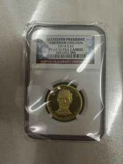 PF 69 Sixteen president abraham lincoln 2010