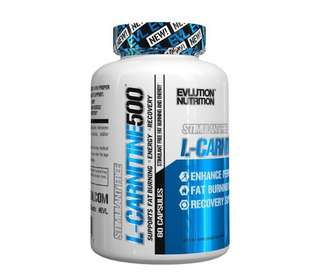 🚚 🔥 Evlution Nutrition L Carnitine 500 60 caps
