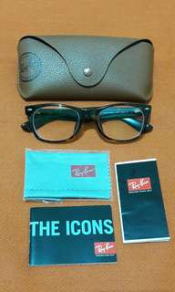RAYBAN WAYFARER PRESCRIPTION EYEGLASS FRAME BUY IT BEFORE JULY 25 AND GET IT SHIPPED FREE IF WITHIN MM AREA