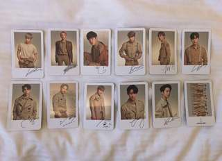 WANNA ONE OFFICIAl GOODS PC