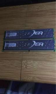 記憶體 ddr2 2GBx2