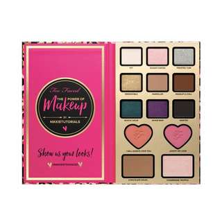 Too Faced Power of makeup Nikki tutorials palette