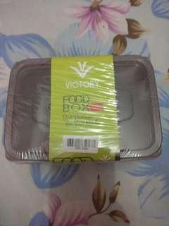 Food box victory baru masih terpacking isi 3 box