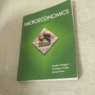 ECON111 Microeconomics textbook