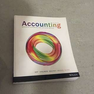 ACCG106 Accounting Textbook