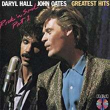 CD Hall and Oates Rock & Soul Part 1