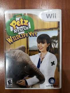 🚚 Wii Games Petz Rescue Wildlife Vet