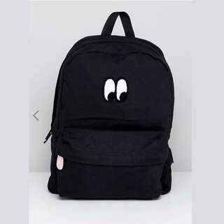 [歐洲直送包郵] Vans X Lazy Oaf Eyeball Backpack 大眼仔背囊 背包 書包