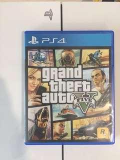 PS4 Games (GTA V)