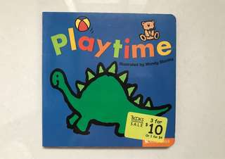Playtime babies board book