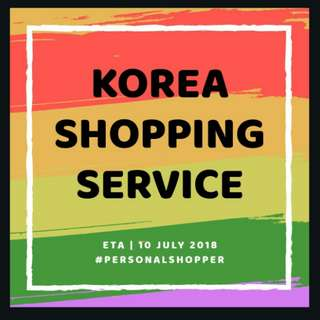 KOREA SHOPPING SERVICE III : PERSONAL SHOPPER