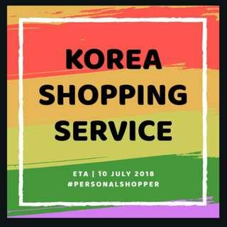 KOREA SHOPPING SERVICE III : PERSONAL SHOPPER