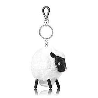 Bath & Body Works PocketBac Hand Sanitizer Holder Lambie Pom-Pom