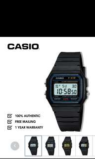 Unisex Authentic Casio Digital Or Analog Watches With One Year Local Warranty From Date Of Purchase At Super Cheap Prices For Sale With Many Designs To Choose From So Get Yours Today