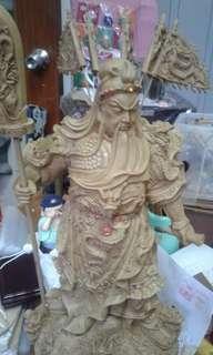 Guan Yu statue