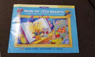 Music for Little Mozart Music Workbook 3