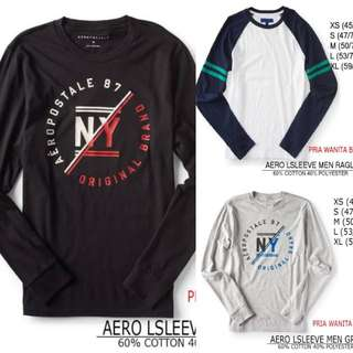 Branded Aero Long Sleeve Men Tew